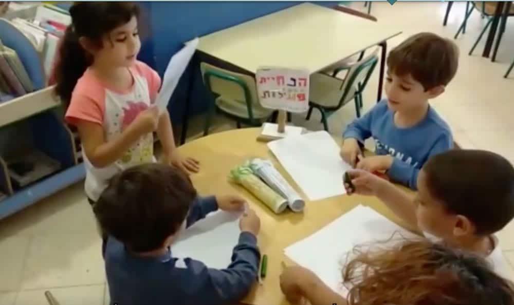 כלי: משוב של ילדים | תפיסת הגן הדיאלוגי